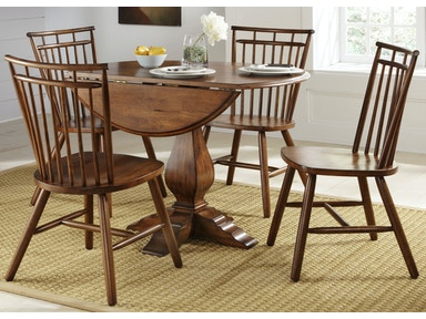 Liberty Furniture 5 Piece Round Table Set 38-CD-5ROS