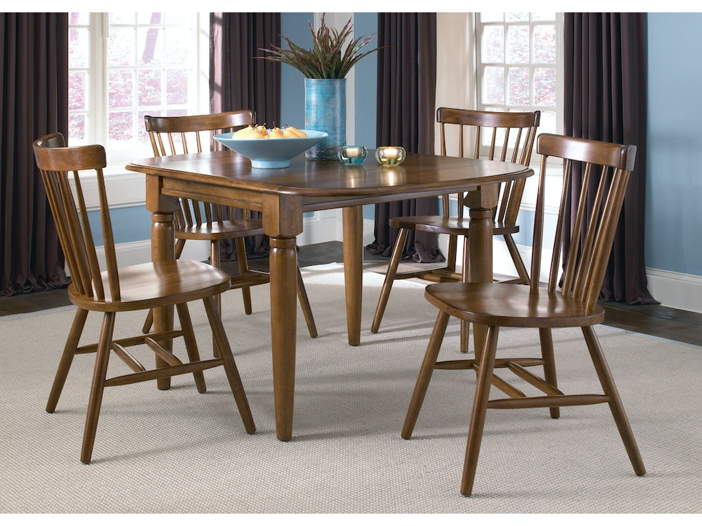 Liberty Furniture Dining Room Drop Leaf Table Tobacco 38 T200 Slone Broth