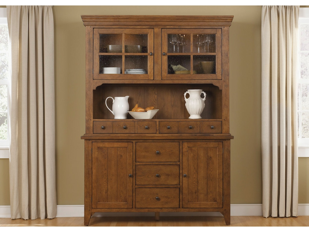 Liberty Furniture Dining Room Hutch And Buffet