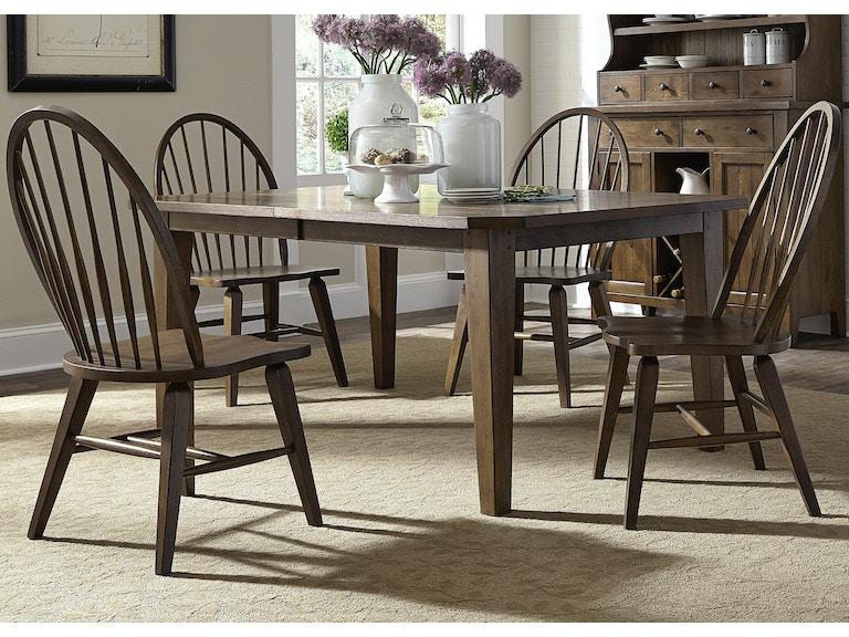 Liberty Furniture Dining Room 5 Piece Rectangular Table Set 382 DR 5RLS At The House Of Carrollton