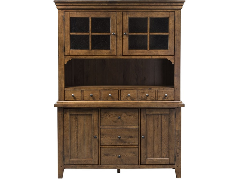 Liberty Furniture Dining Room Hutch and Buffet - Frazier and ...
