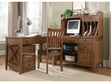 Liberty Furniture Complete Desk 382-HO-CDS