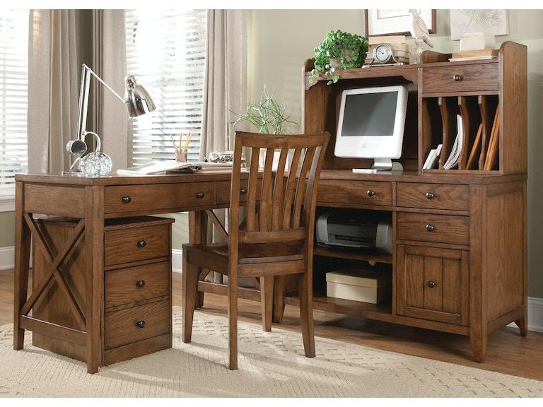 Liberty Furniture Home Office Complete Desk 382 Ho Cds