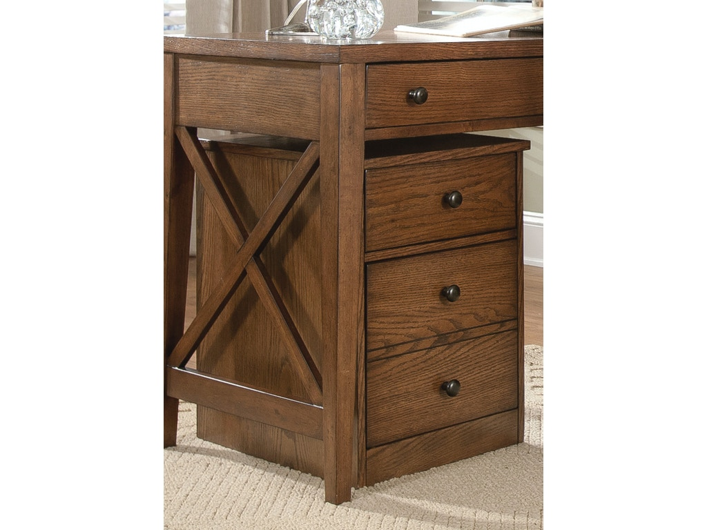 Liberty furniture home office mobile file cabinet 382 for Mobile furniture