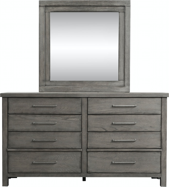 Liberty Furniture Bedroom Dresser And Mirror 406 Br Dm
