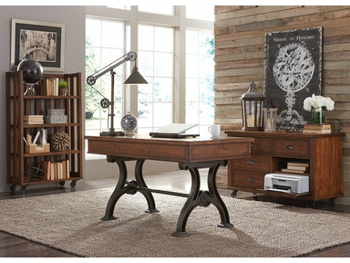 Liberty Furniture 4 Piece Desk Set 411-HO-4DS