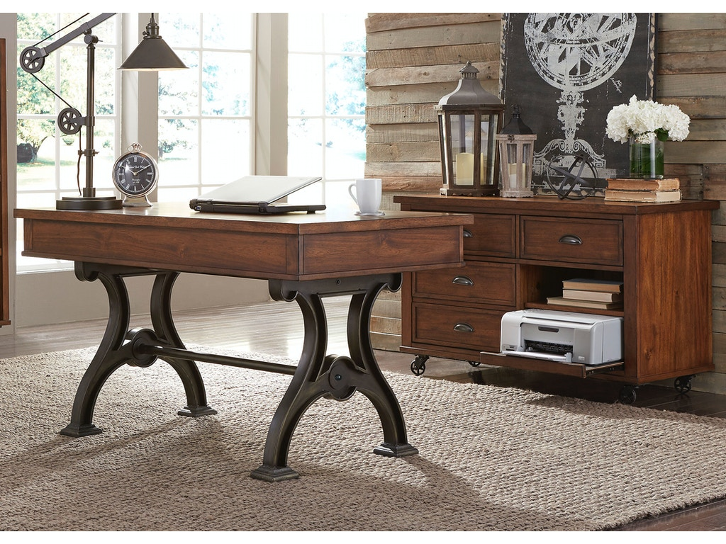 Liberty furniture home office complete desk 411 ho cds for Furniture 411