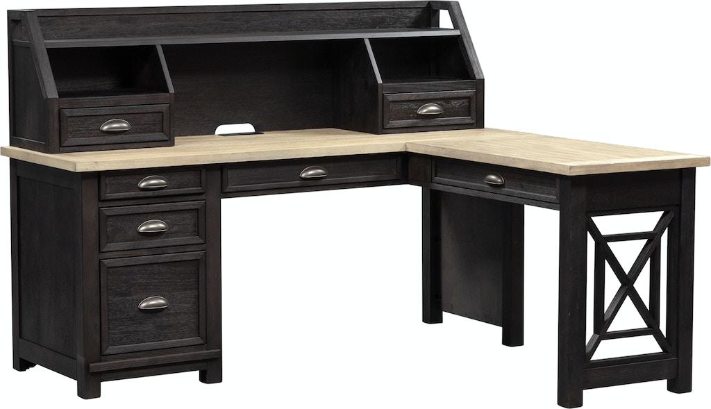 Liberty Furniture Home Office L Shaped Desk 422 Ho Lsd Furniture Kingdom Gainesville Fl