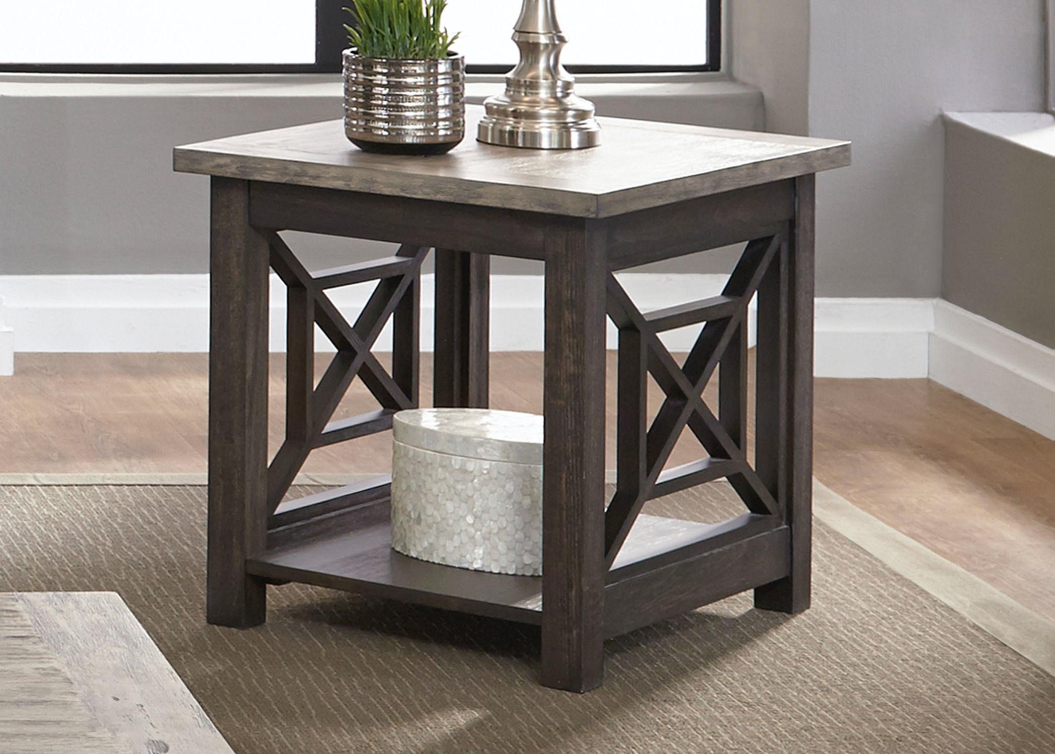 Liberty Furniture End Table 422 OT1020