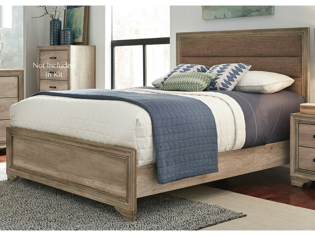Liberty Furniture Bedroom Twin Upholstered Bed 439 Br Tub