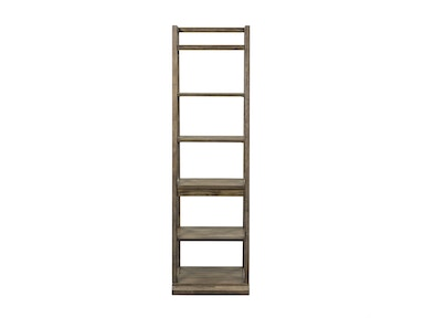 Liberty Furniture Leaning Bookcase 466-HO201