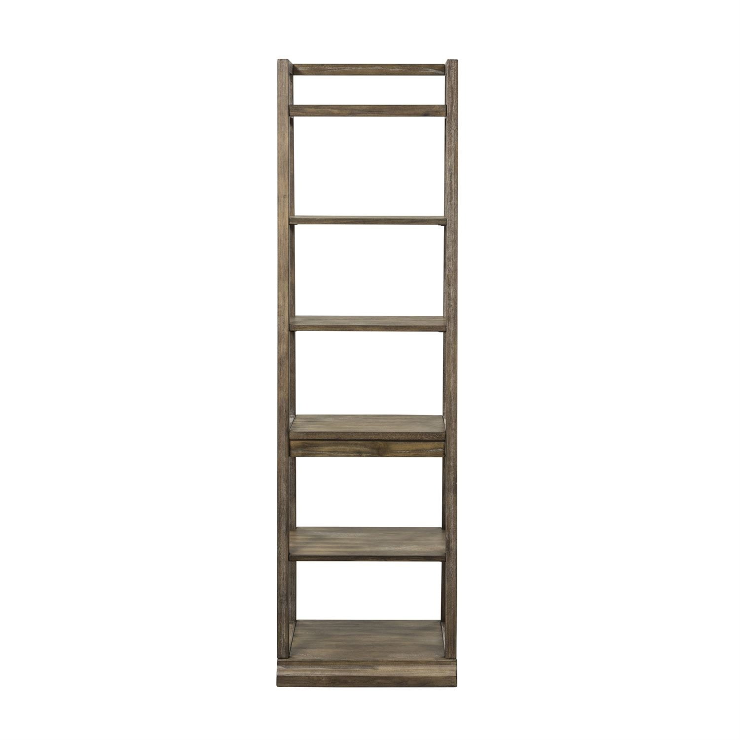 Liberty Furniture Leaning Bookcase 466 HO201