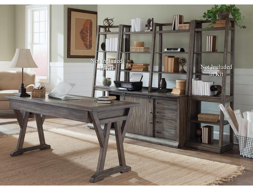 Liberty Furniture Home Office Complete Desk 466 Hoj Cds Furniture Kingdom Gainesville Fl