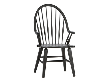Liberty Furniture Windsor Back Arm Chair - Black 554639
