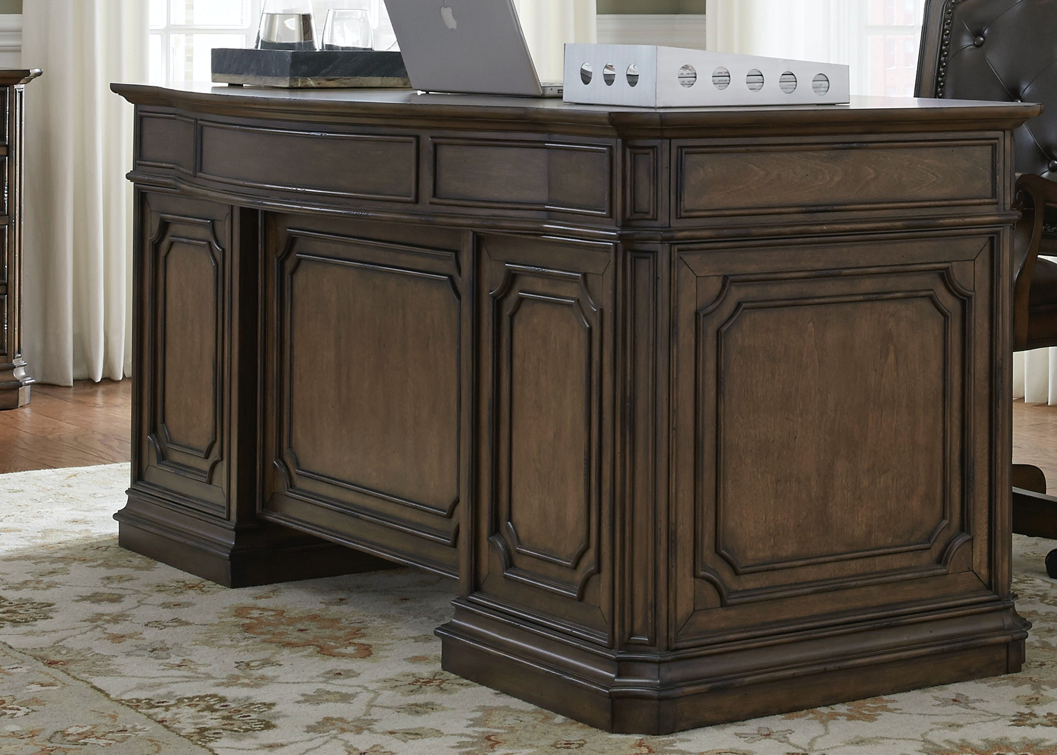 Liberty Furniture Home Office Jr. Executive Desk Base 487 HO105B At Sit U0027n  Sleep