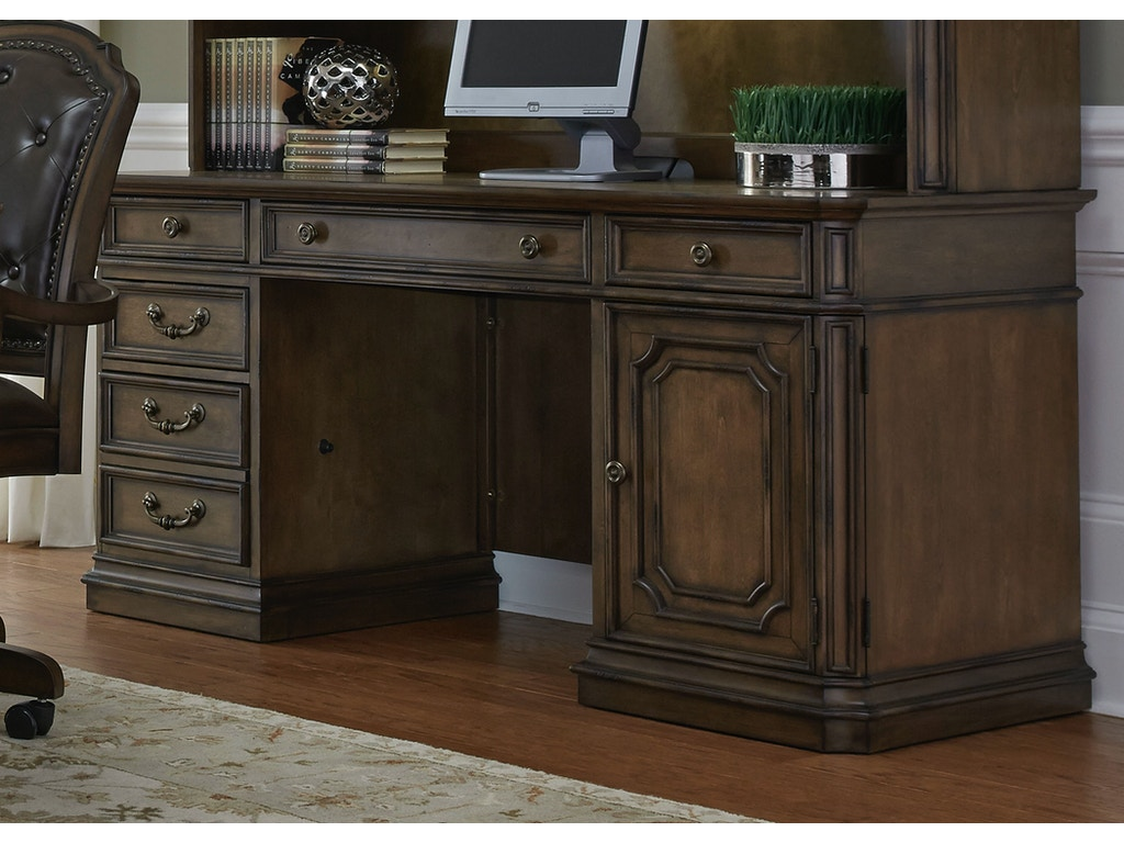 Home Office Sets Painted Office 5 Piece: Liberty Furniture Home Office 5 Piece Jr Executive Set 487