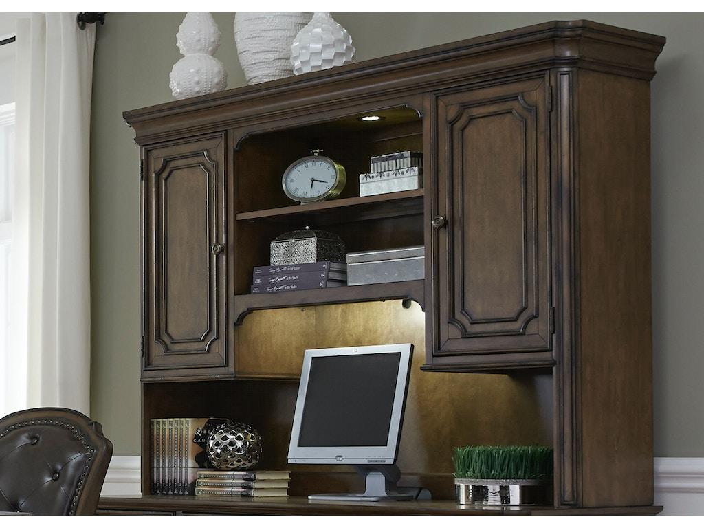 Liberty Furniture Home Office Jr Executive Credenza Hutch