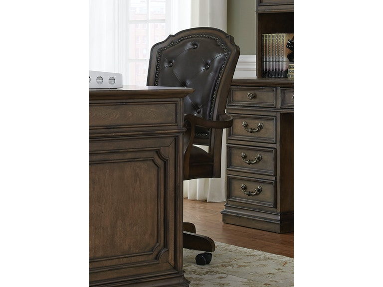 Liberty Furniture Jr Executive Office Chair 487 HO197