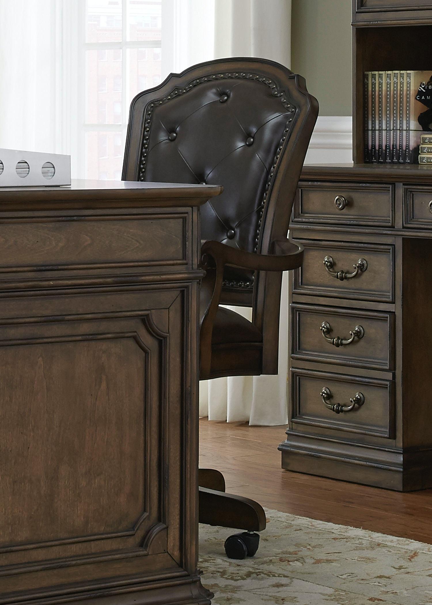 Superb Liberty Furniture Jr Executive Office Chair 487 HO197