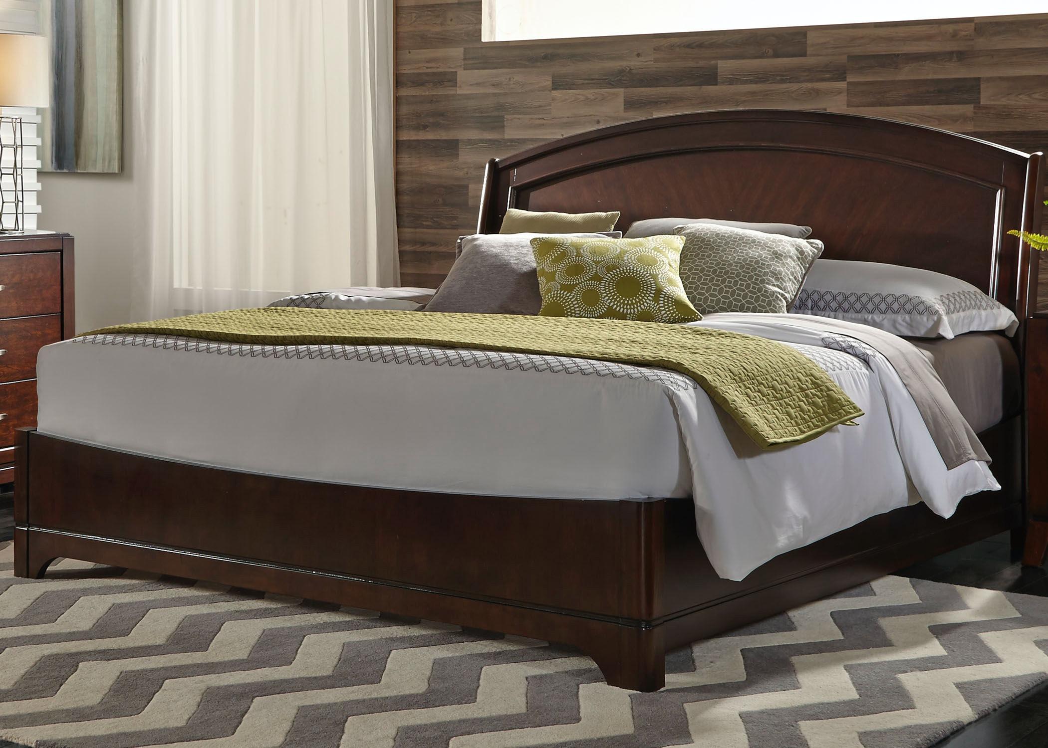 Liberty Furniture King Platform Bed 505 BR KPL