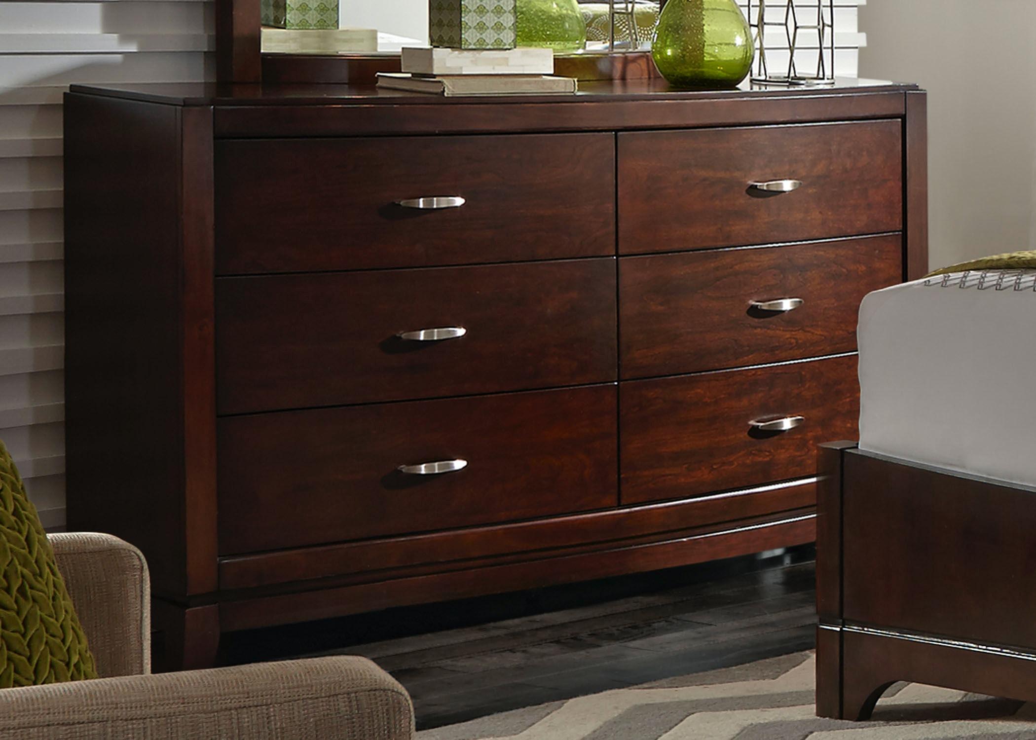 Liberty Furniture Bedroom Dresser & Mirror 505 BR DM