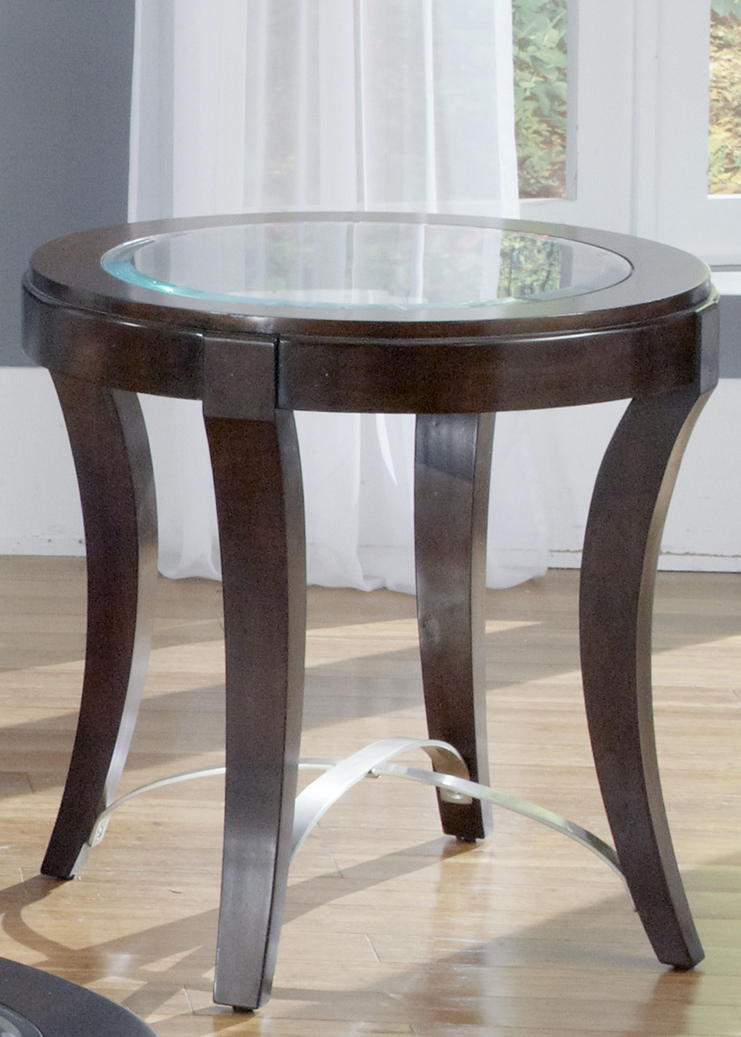 Liberty Furniture Living Room Oval End Table 505 OT2020   Smith Village  Home Furniture   Jacobus And York, PA