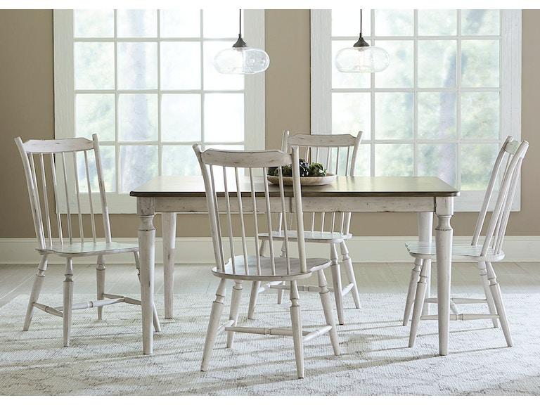 Liberty Furniture 5 Piece Rectangular Table Set 517 CD 5RLS