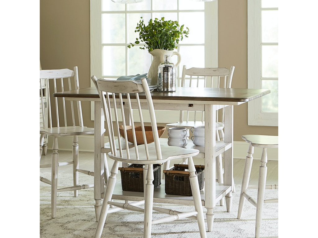 Liberty Furniture Dining Room Kitchen Island Table 9 IT9 ...