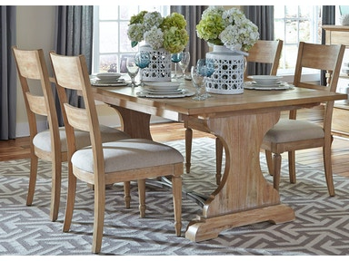 Liberty Furniture 5 Piece Trestle Table Set 531-DR-5TRS