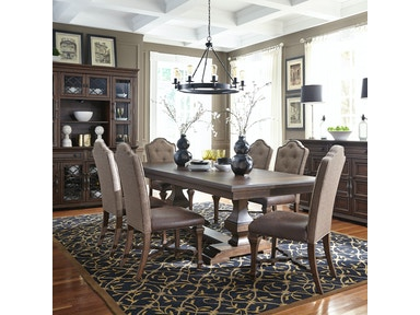 Liberty Furniture Dining Room Double Pedestal Table 535 Dr