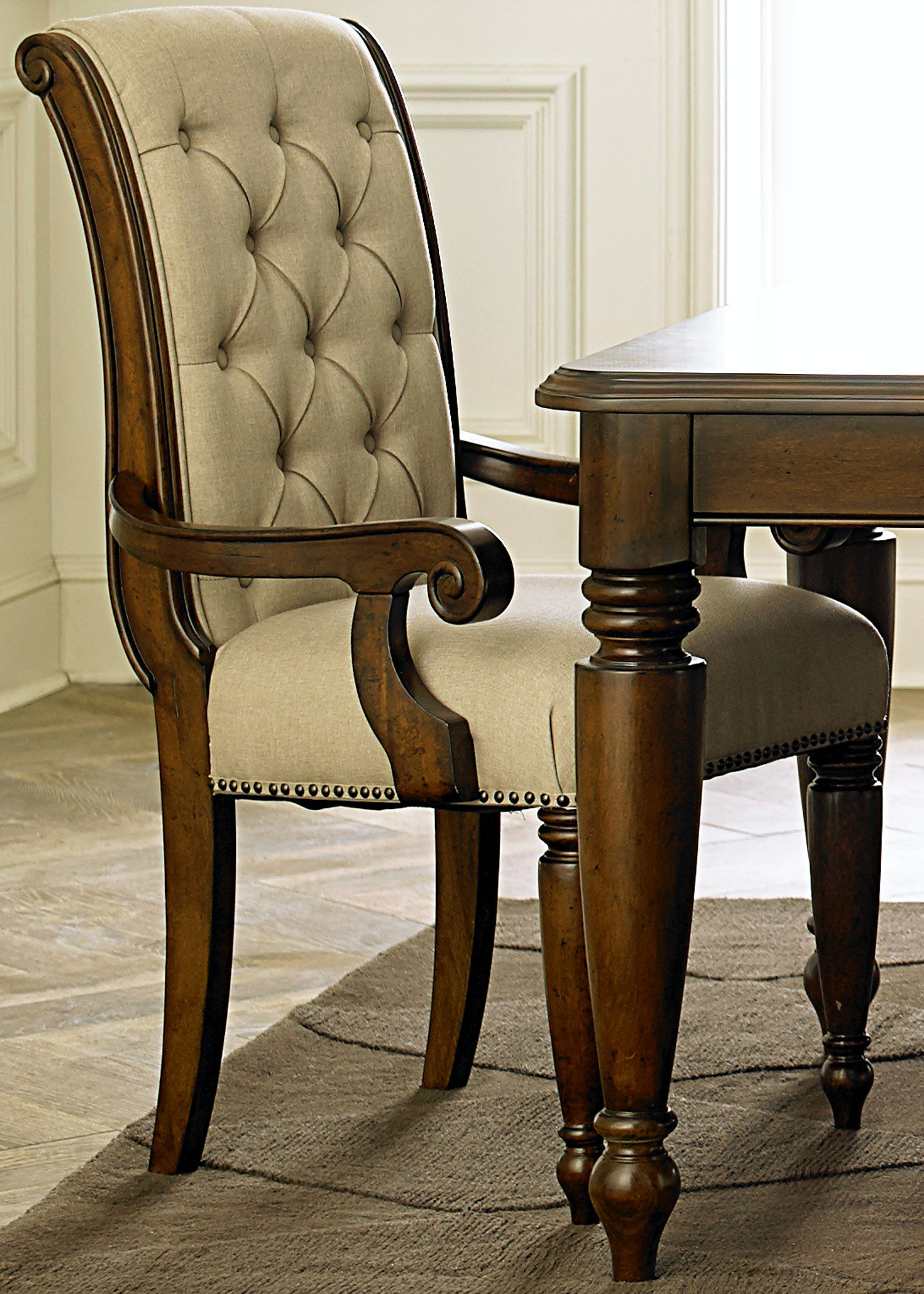 Delicieux Liberty Furniture Dining Room Uph Arm Chair (RTA) 545 C6501A At Kiser  Furniture
