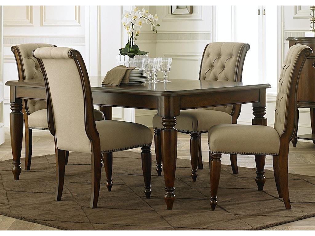 Liberty Furniture Dining Room 5 Piece Rectangular Table