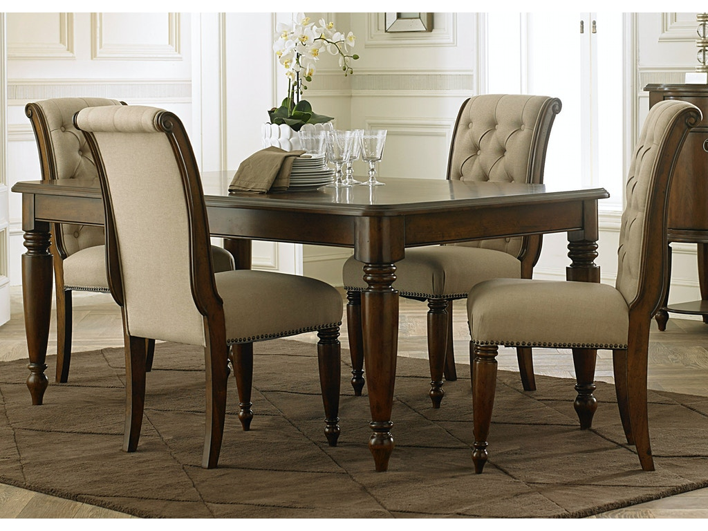 Liberty furniture dining room piece rectangular table