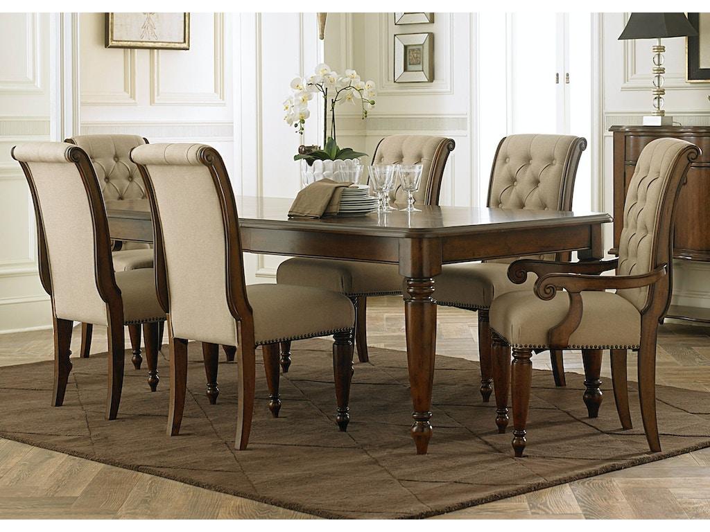 liberty furniture dining room 7 piece rectangular table