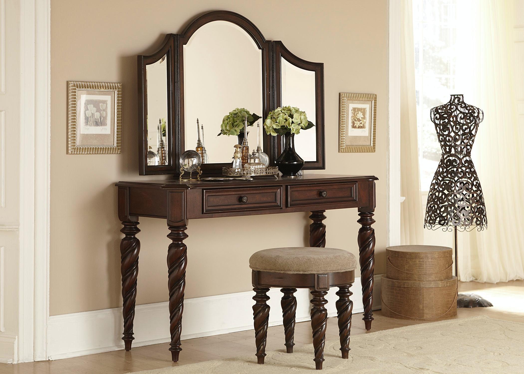 Liberty Furniture Vanity 575 BR VN