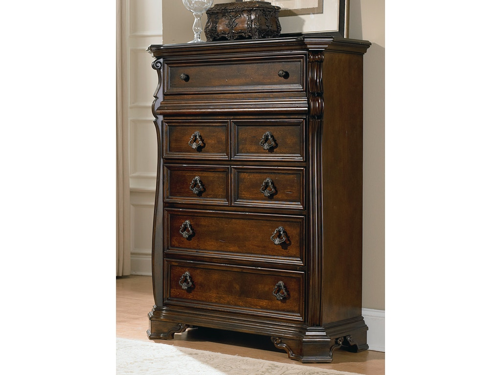 Liberty furniture bedroom 6 drawer chest 575 br41 for Furniture mo