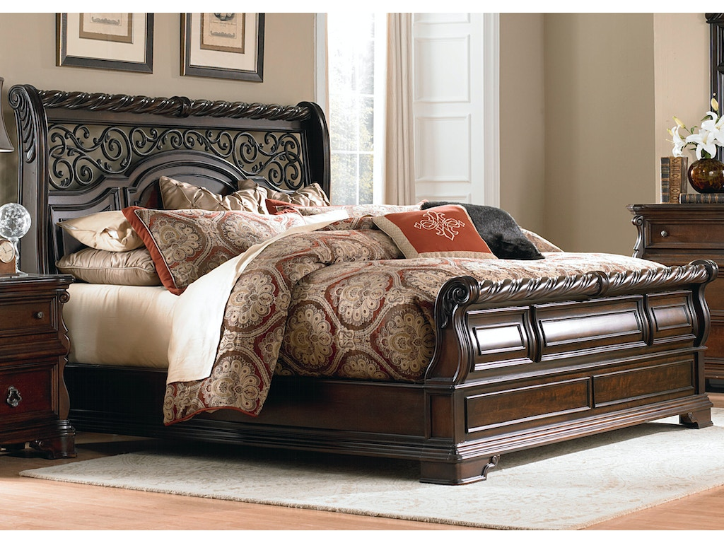 Liberty Furniture Bedroom Queen Sleigh Bed 575 Br Qsl