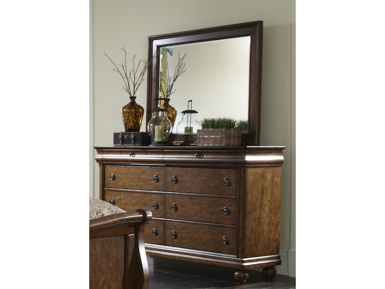 Liberty Furniture 8 Drawer Dresser 589 Br31 At Abernathy S