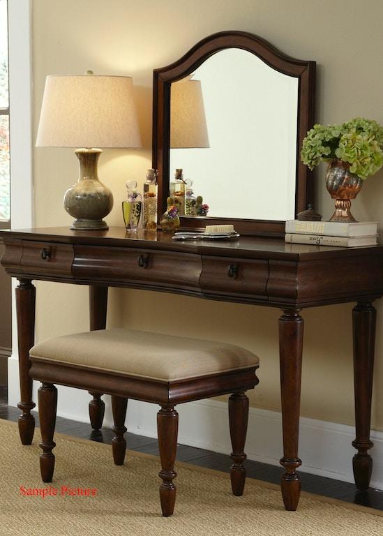 Liberty Furniture Bedroom Vanity Desk 589-BR35 - Indiana ...