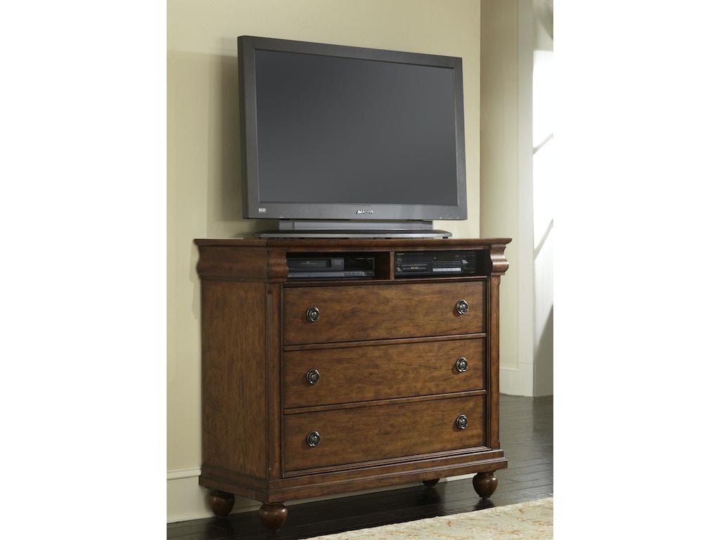 Liberty Furniture Bedroom Media Chest 589 Br45 Blockers Furniture Ocala Fl