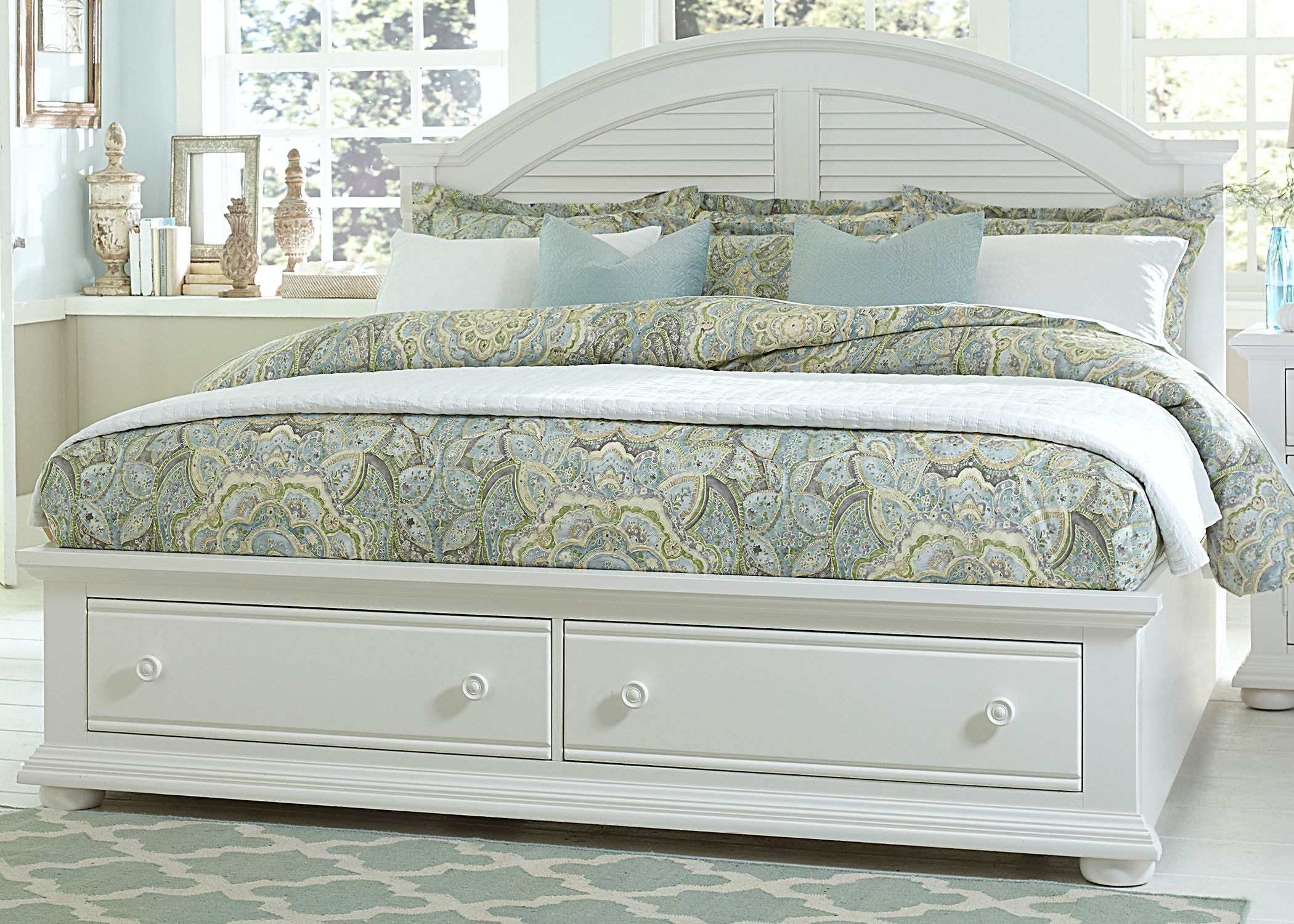 Liberty Furniture King Storage Bed 607 BR KSB