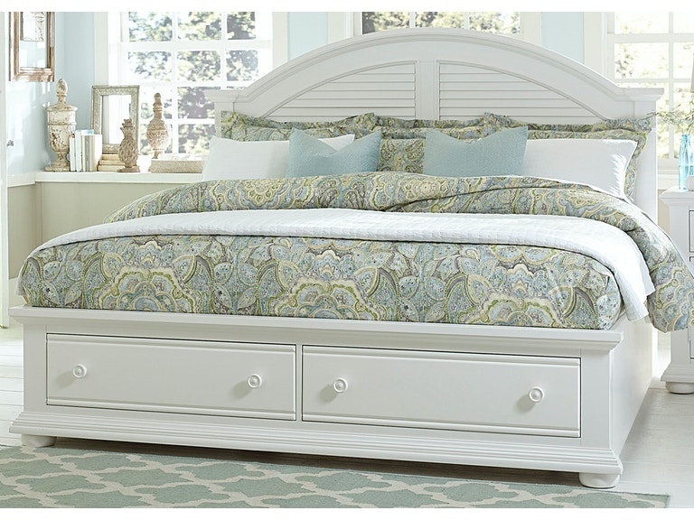 Liberty Furniture Bedroom Queen Storage Footboard 607 Br14fs At Z R Galleries