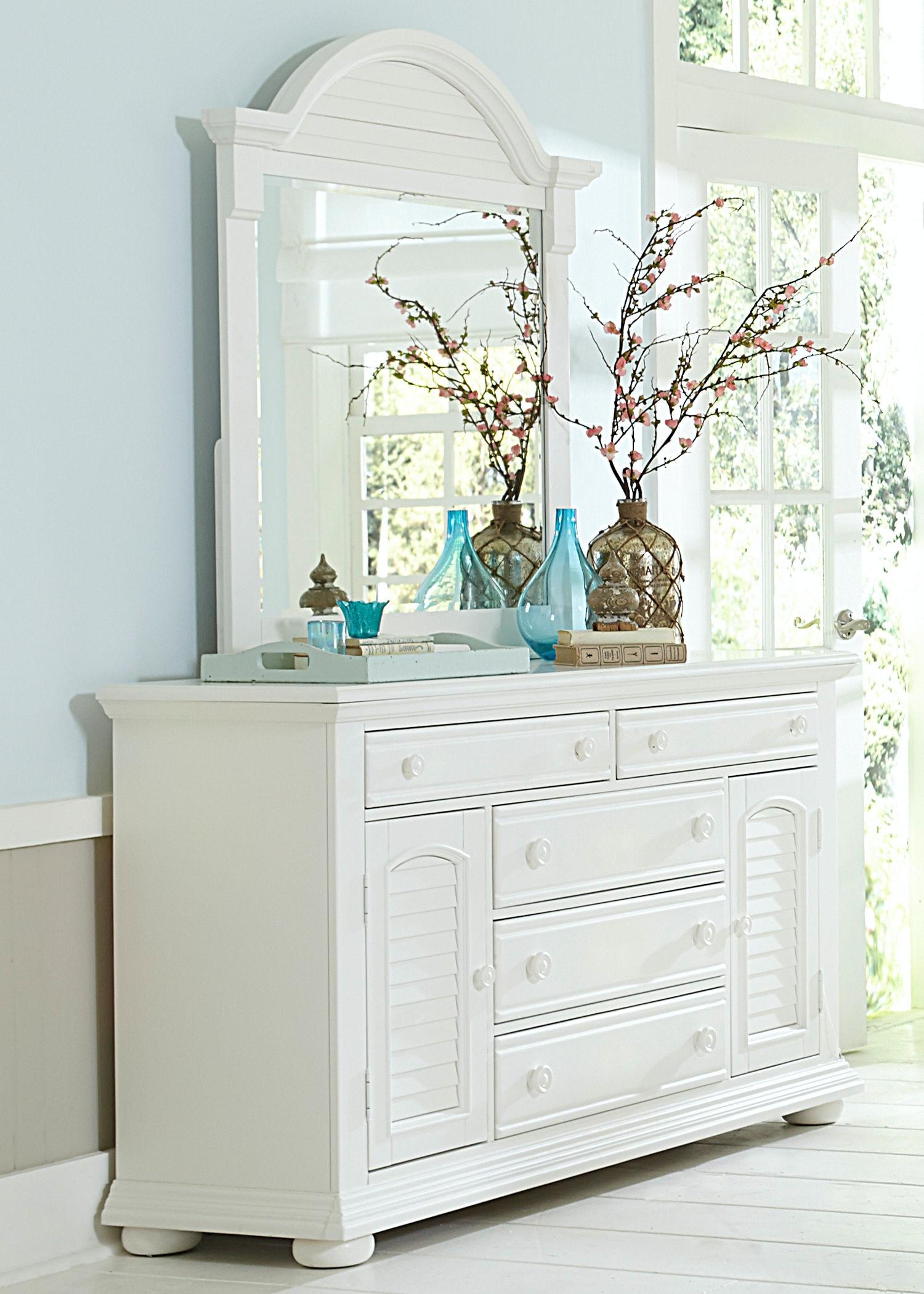 Liberty Furniture Bedroom 2 Door 5 Drawer Dresser 607 BR32 At Waltman  Furniture