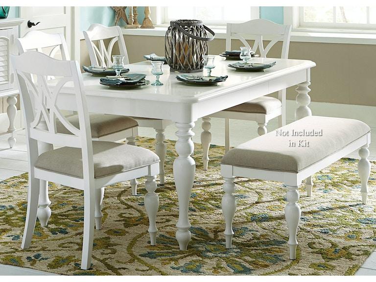 Liberty Furniture 5 Piece Rectangular Table Set 607 CD 5RLS