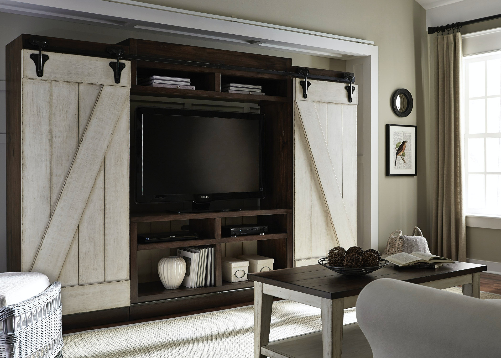 home entertainment center. Liberty Furniture Entertainment Center With Piers 612-ENTW-ECP Home
