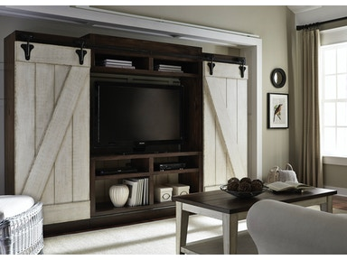 Liberty Furniture Entertainment Center with Piers 612-ENTW-ECP