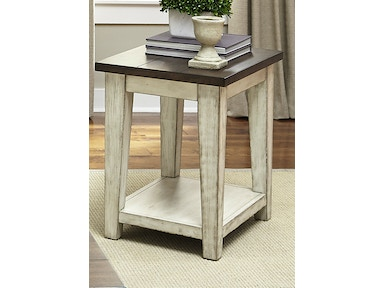 Liberty Furniture Chair Side Table 612-OT1021