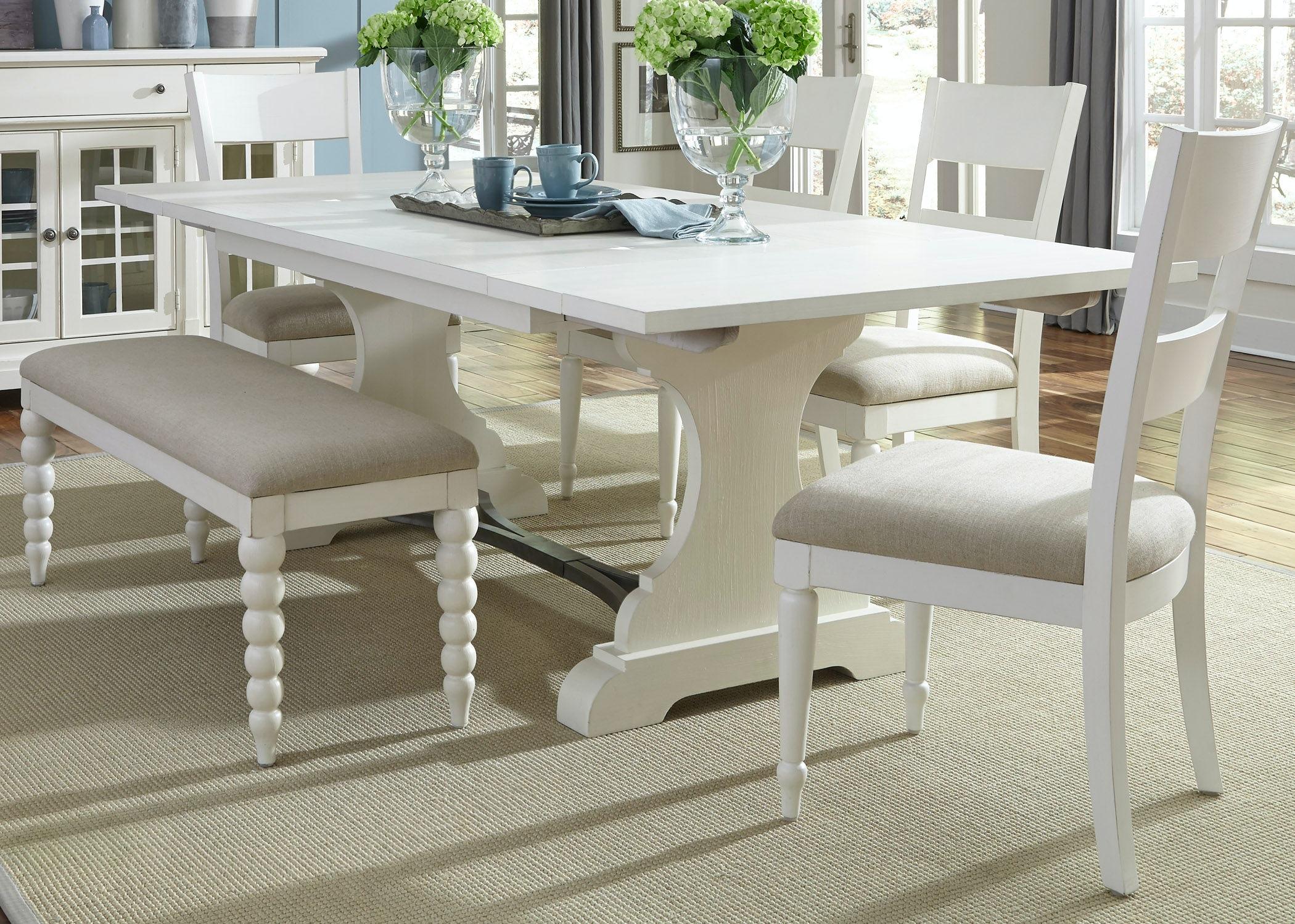 Liberty Furniture 6 Piece Trestle Table Set 631 DR 6TRS