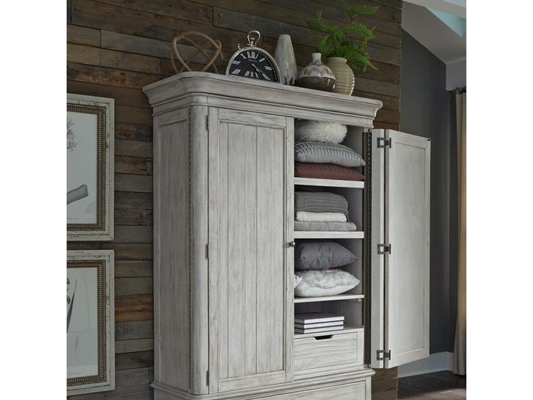 Liberty Furniture Bedroom Armoire Top 652-BR43 - Kettle ...