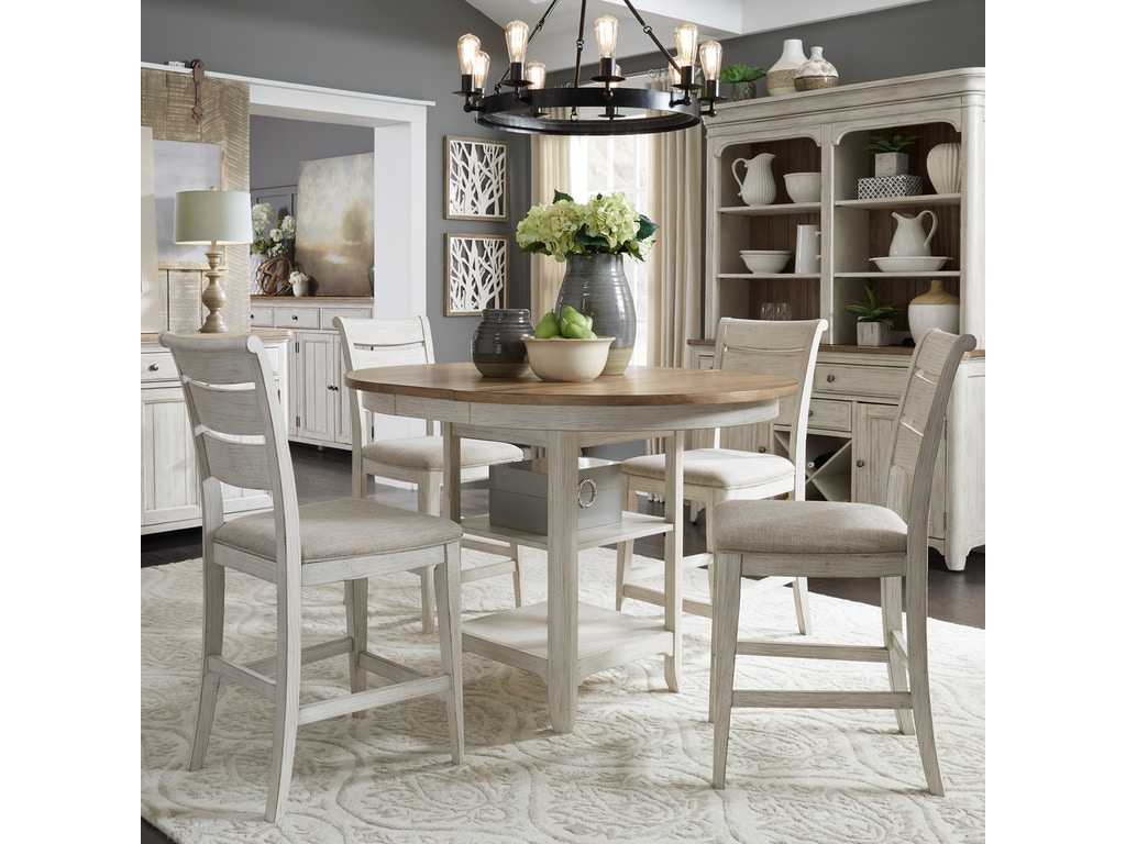 liberty furniture dining room gathering table 652gt4254